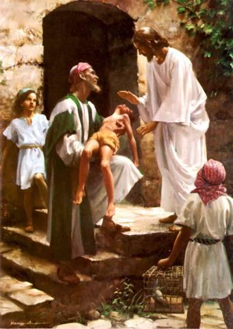 jesús sanando